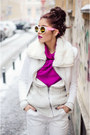 Black-edgy-zara-boots-ivory-faux-fur-bershka-jacket
