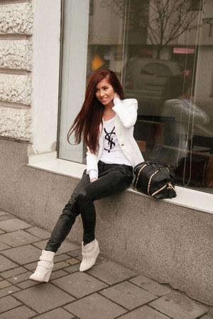 white ysl sugar shop Sugar Shop ysl blouse blouse