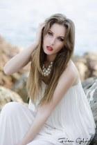 white dress Zara dress