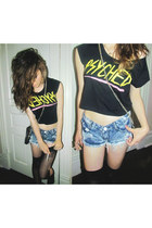 black glamour kills top