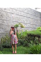 Evita Peroni accessories - Forever 21 dress - tiamo shoes