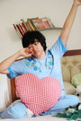 Sky-blue-striped-pyjamas-gifted-intimate