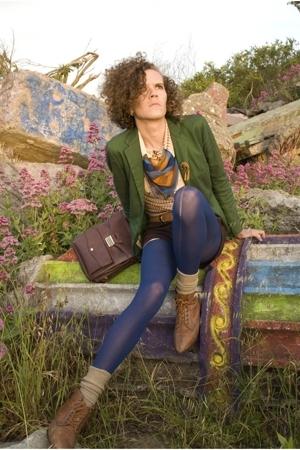 Vintage from Apocalypse Vintage blazer - Vintage from Apocalypse Vintage scarf -