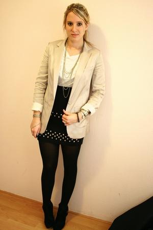 pink Blazer blazer - black DIY skirt skirt