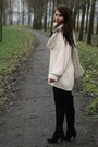 Beige-vintage-sweater