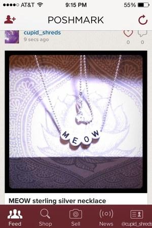 silver meow Accessorize accessories