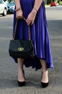 Pleated-maggy-london-dress-black-tj-maxx-purse-black-zara-heels