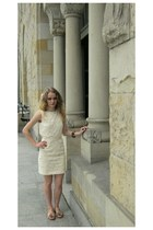 lace Zara dress - Lasocki shoes