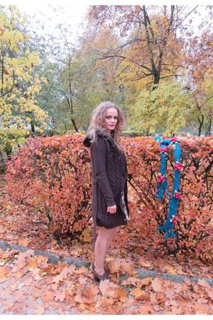 Lasocki shoes - Stradivarius jacket - Mohito sweater - Orsay skirt