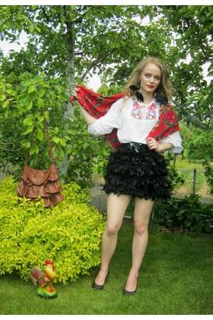 Stradivarius dress - H&M blouse