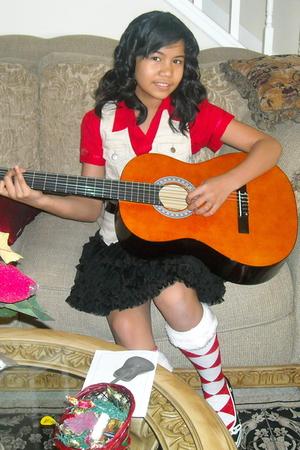red Antilia Femme t-shirt - beige No Boundaries vest - black Forever 21 skirt -