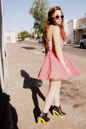 Forever 21 dress - Urban Outfitters boots