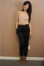 Wilfred-belt-wilfred-bra-wilfred-top-h-m-pants-zara-shoes