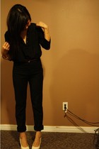 Forever 21 blouse - H&M pants - Aldo shoes - Forever 21 accessories - wilfred be