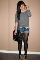 wilfred blouse - Forever 21 sweater - Forever 21 accessories - H&M belt - Steve