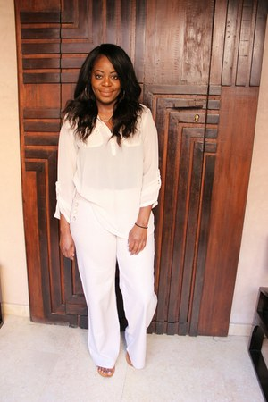 ivory Primark blouse - ivory linen Primark pants