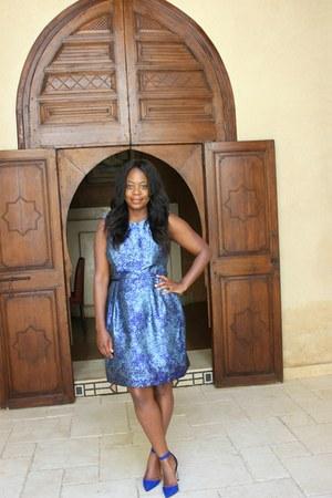 sky blue blazer - Primark blazer - sky blue Donna Ricco dress