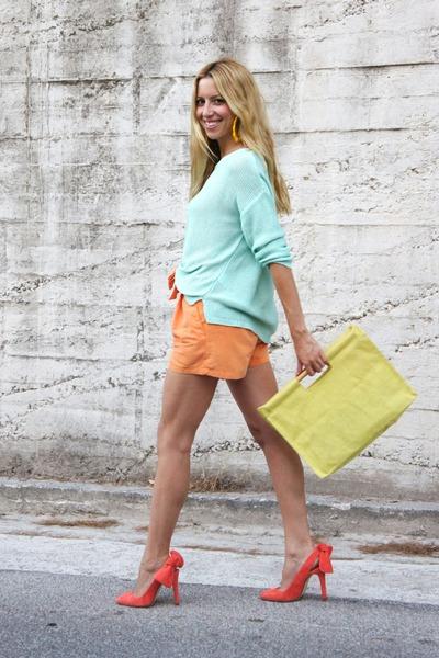 Carven shoes - H&M sweater - H&M shorts