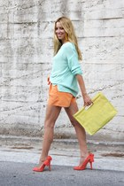 Carven shoes - H&M sweater - H&M shorts