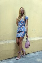 Bershka dress - Zara bag - asos wedges