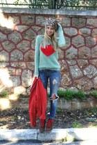 Pull & Bear jacket - Zara jeans