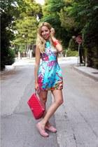 Primark dress - Chanel bag