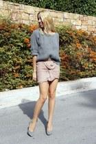 BLANCO skirt - Zara heels