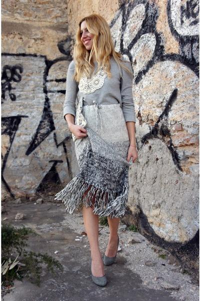 Zara sweater - Zara heels