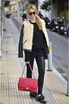 Bershka jacket - Zara loafers