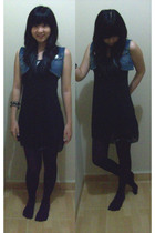 vest - dress - NyLa tights