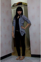 Mangga 2 blouse - Zara top - somewhere in China pants