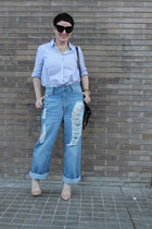 Cheap Monday jeans - Boy by Band of Outsiders shirt - Bimba & Lola necklace