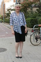 Zara shirt - Alexander Wang bag - Zara shorts - Valentino heels