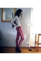 rogerstensamuelsson pants - acne top - Din Sko shoes - second hand necklace - se