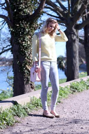 topshop Topshop jeans - milkman Brit-Stitch bag - Topshop jumper