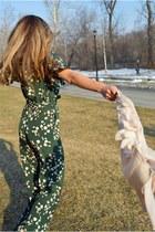ann taylor cardigan - Jessica Simpson sandals - H&M jumper