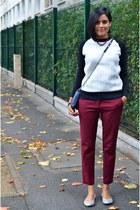 crimson Zara pants