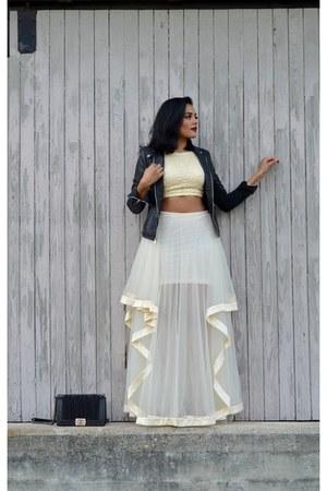 eggshell bisouNYC skirt