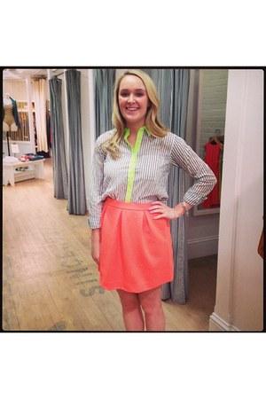 madewell shirt - madewell skirt