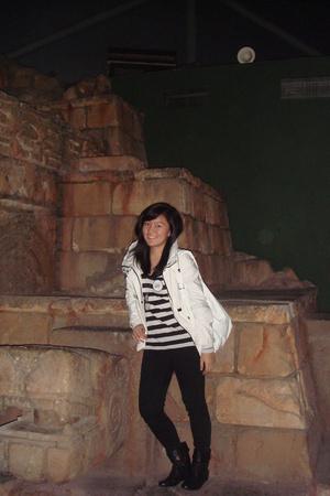 mphosis jeans - Zara shoes - Zara jacket - Mango top