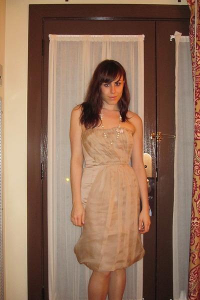 JCrew dress - JCrew necklace - Nine West shoes