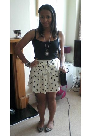 white Primark skirt - brown