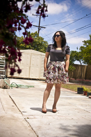 Target skirt - H&M top - Target shoes