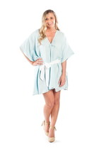 sky blue kaftan dress Alyssa Nicole dress