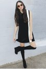 Black-alyssa-nicole-dress-black-knee-high-socks-asos-socks