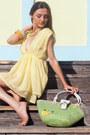 Chartreuse Alyssa Nicole Bags