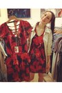 Ruby-red-alyssa-nicole-dress-beige-peterpan-collar-anthropologie-jacket
