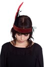 Crimson-feather-crown-alyssa-nicole-accessories