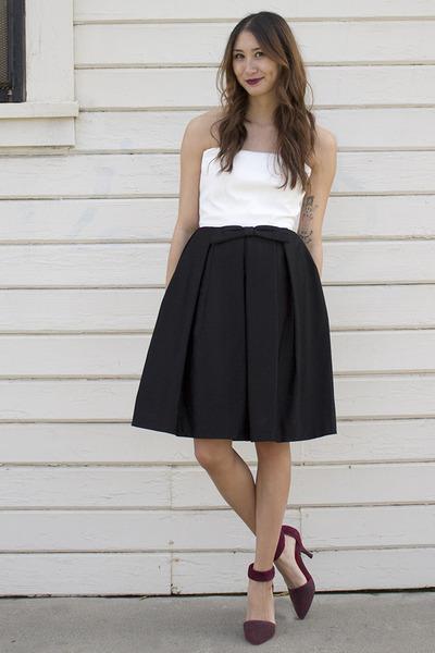 Black Tuxedo Dress Alyssa Nicole