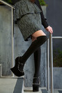 Black-knee-high-asos-socks-army-green-army-jacket-anne-taylor-loft-jacket